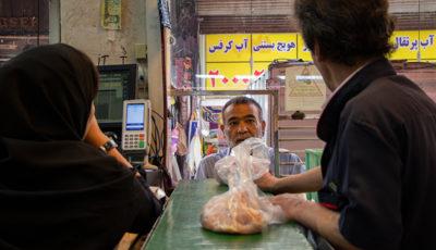 گرانی گوشت قرمز و ارزانی گوشت مرغ