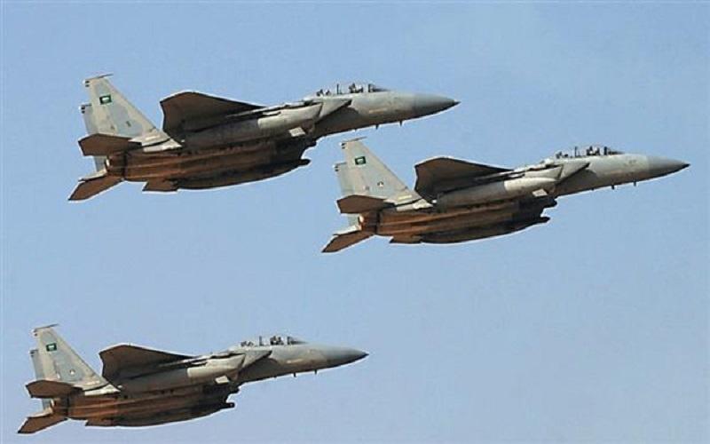 حملات گسترده جنگندههای ائتلاف سعودی به «صعده»