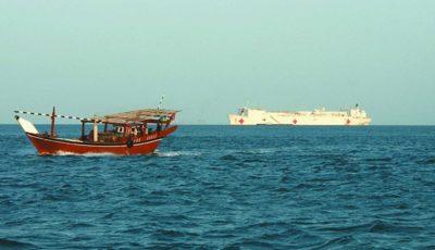 توقیف پنج شناور صیادی متخلف در آبهای خلیج فارس