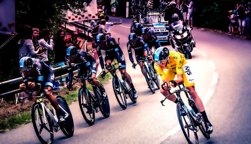 هنر باختن مسابقات دوچرخه سواری تور فرانسه