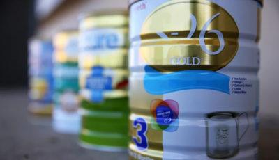 واردات مشکوک شیرخشک آمریکایی
