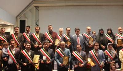 تندیس زرین چهره های ماندگار افتخاری دیگر برای بانک حکمت ایرانیان