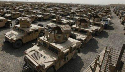 فروش ۵۵.۶ میلیارد دلاری تجهیزات نظامی آمریکا به جهان