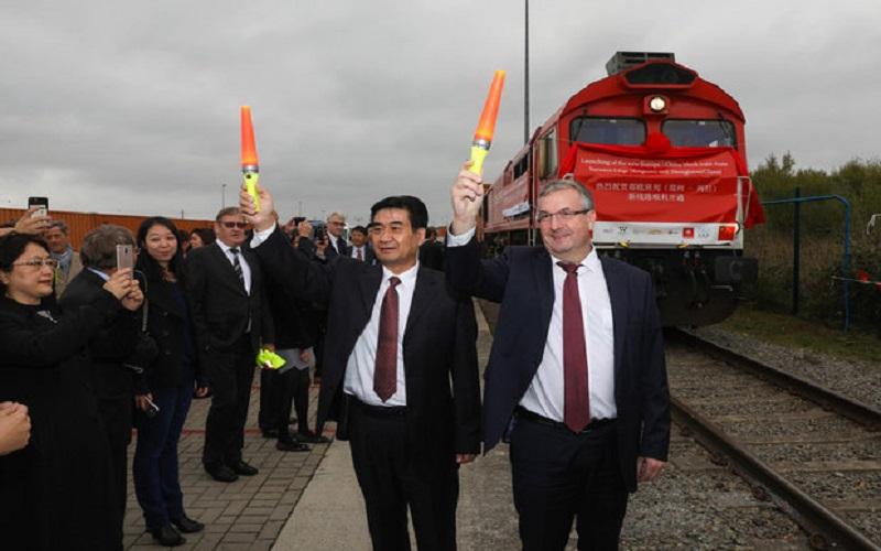 خطآهن باری جدید بلژیک به چین آغاز به کار کرد
