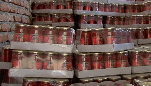 توقیف ۸ دستگاه تریلی رب گوجه قاچاق در سیستان