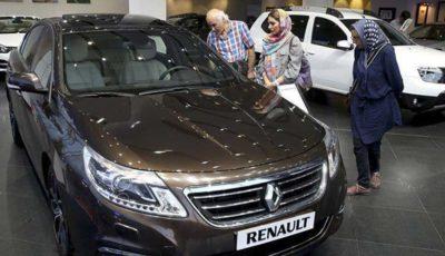 گرانی خودروهای رنو در روز کاهش قیمت دیگر خودروهای وارداتی