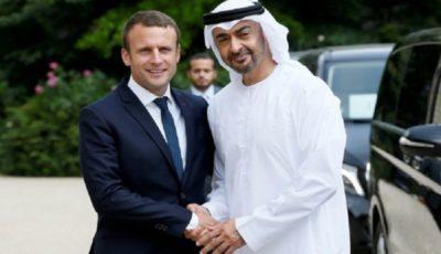 تماس تلفنی ماکرون با ولیعهد امارات و تاکید بر گسترش روابط دوجانبه
