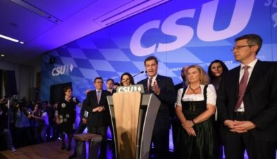 انتخابات باواریا؛ افت گسترده آرای حزب همپیمان مرکل