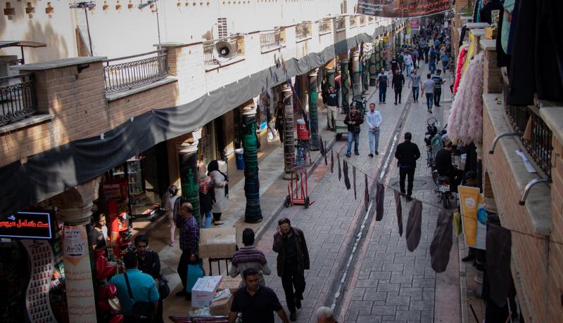 بازار عطر و لوازم آرایشی بازار بزرگ تهران (کوچه مروی) به روایت یک گزارش تصویری