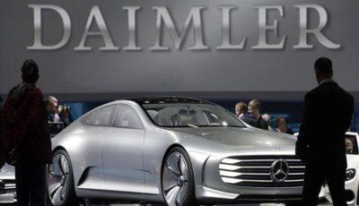 دایملر در آمریکا کارخانه باتری خودروهای برقی میسازد
