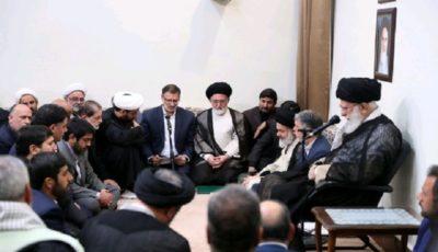 دیدار جمعی از مسئولان و دستاندرکاران حج با رهبر انقلاب