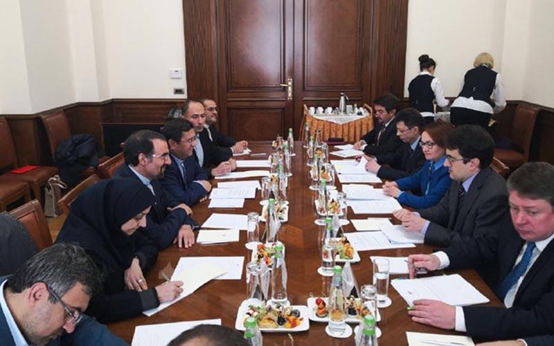 روسای کل بانک مرکزی ایران و روسیه دیدار کردند