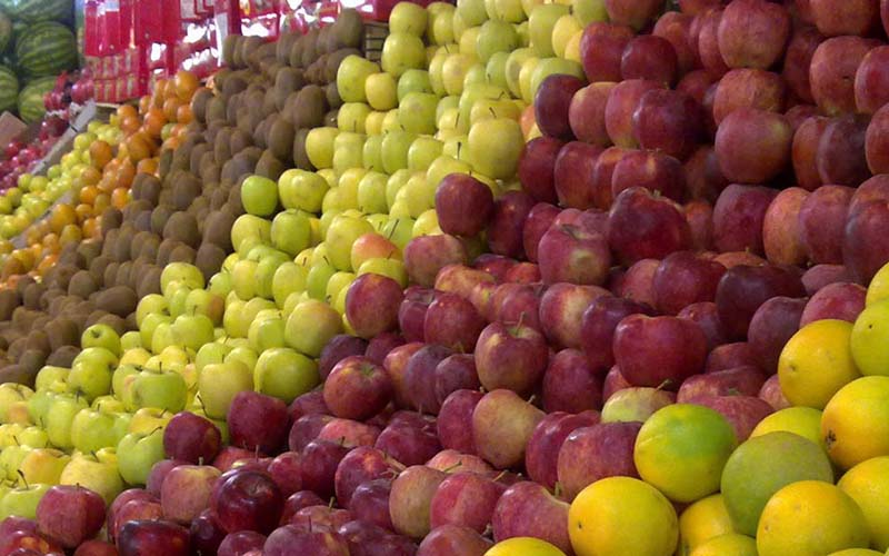 رشد 17 درصدی صادرات میوههای خوراکی