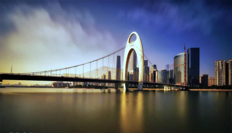 پل لایده شهر گوانجو اقتصاد چین
