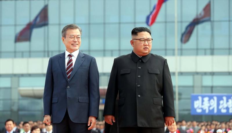 کیم جونگ اون و موون جا این اقتصاد کره شمالی