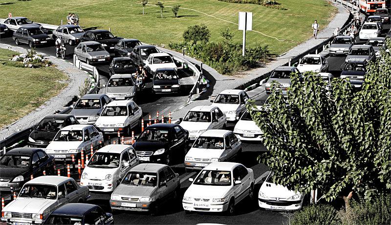 ترافیک تهران احساسات تصمیمگیری تصمیمات قضاوتها