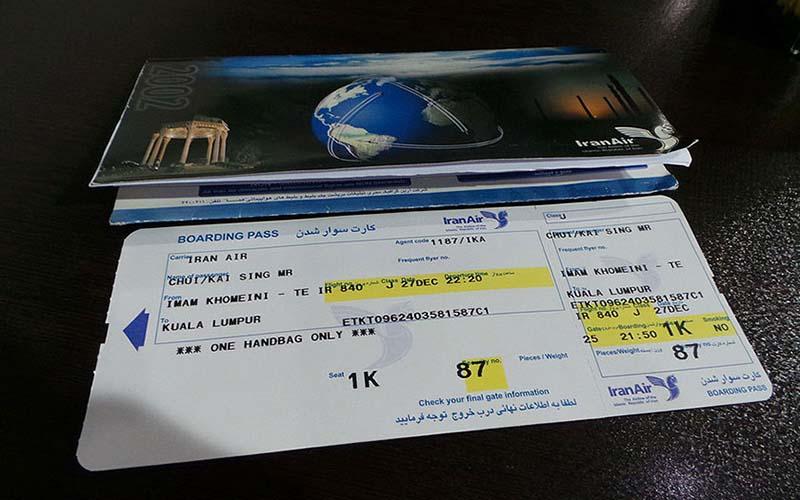 قیمت بلیت هواپیما بر اساس نرخ ارز تعیین میشود