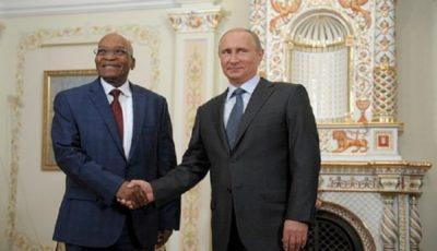 تجارت دوجانبه روسیه و آفریقای جنوبی ۳۰ درصد افزایش یافت