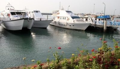 ظرفیت کشتیهای تفریحی کیش به ١٢٠٠ نفر رسید