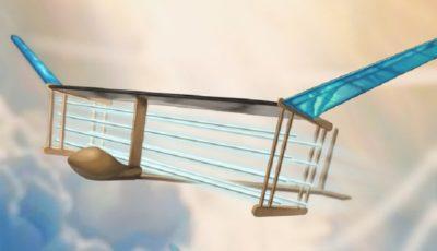 پرواز خاموش هواپیمای یونی بدون قطعه متحرک!