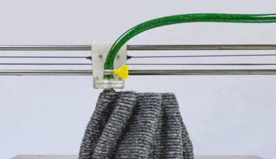 چاپ ۳ بعدی اشیا با استفاده از خمیر کاغذ