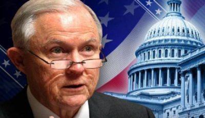 «جف سشنز» از دادستانی کل آمریکا برکنار شد
