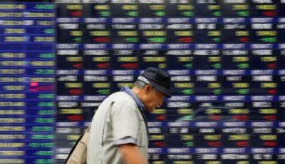 بازارهای سهام افت کرد