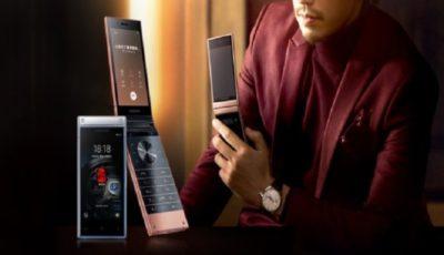سامسونگ از موبایل تاشوی ۲۷۰۰ دلاری رونمایی کرد