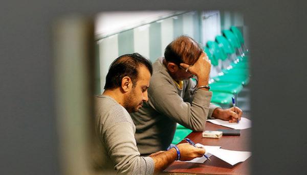 لحظاتی پیش از اجرای حکم اعدام سلطان سکه (تصویر)