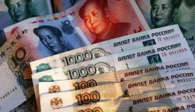مبادله با ارزهای ملی روسیه و چین ۴ برابر شد