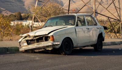 خودروهای رهاشده در خیابانهای پایتخت (گزارش تصویری)