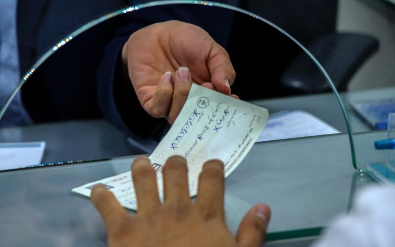 کاهش ۲۵ درصدی چکهای برگشتی / یکماهه ۸۶۹ هزار چک برگشت خورد