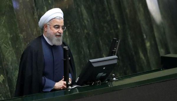 سخنرانی روحانی قبل از ارائه لایحه بودجه ۹۸ به مجلس (ویدئو)