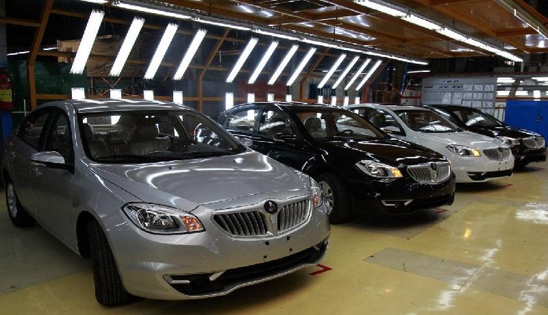 تولید خودروهای چینی در آستانه توقف