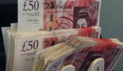 مالیاتستانی انگلستان به رکورد ۷۵ میلیارد پوند رسید