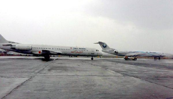 لغو ۲۱ پرواز فرودگاه اهواز به علت مه غلیظ