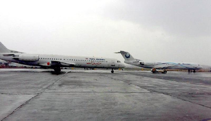لغو 21 پرواز فرودگاه اهواز به علت مه غلیظ