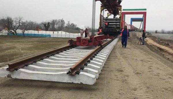 پیشرفت قابل توجه طرح راهآهن چابهار
