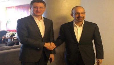 دیدار وزیران انرژی عربستان و روسیه در حاشیه اجلاس گروه ۲۰