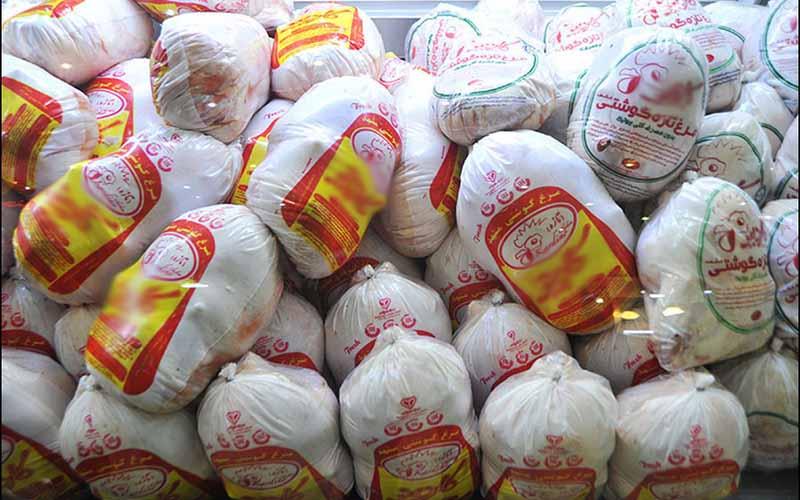 توزیع مرغ منجمد تنظیم بازاری با قیمت مصوب