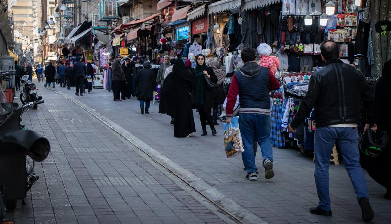 بازار پوشاک کوچه برلن به روایت یک گزارش تصویری