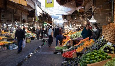 بازار میوه امام حسین (ع) به روایت چند تصویر
