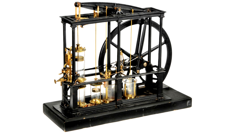 نقش ماشین بخار جیمز وات در اقتصاد انگلستان
