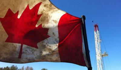 کاهش بیسابقه تولید نفت کانادا