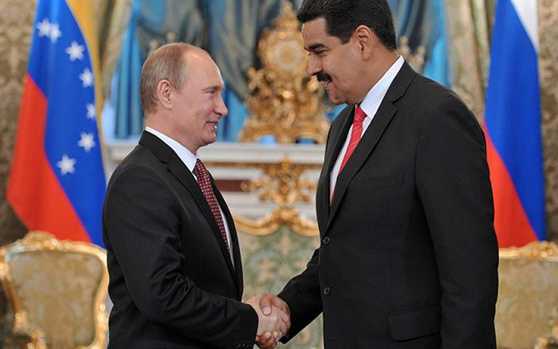 امضای قرارداد ۵ میلیارد دلاری بین روسیه و ونزوئلا