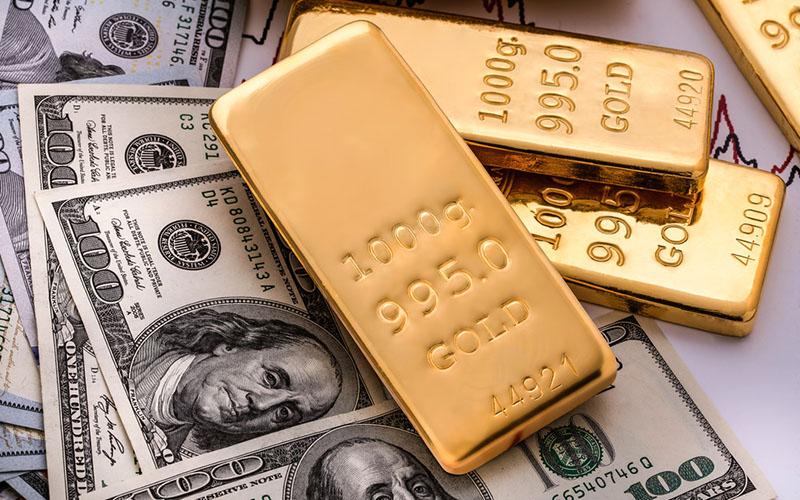 نوسان قیمت دلار از قیمت سکه پیشی گرفت