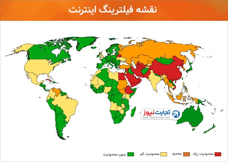 فیلترینگ اینترنت در ایران فیلترشکن