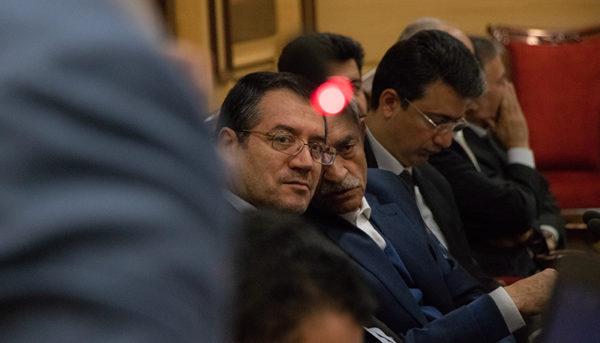 حضور وزیر صنعت در جمع اتاقیها (گزارش تصویری)