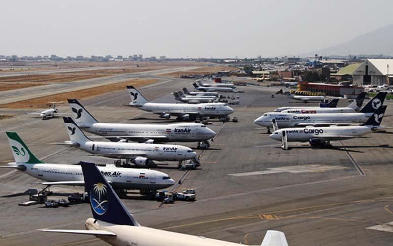 امروز فرودگاههای استان تهران ۵ ساعت تعطیل است