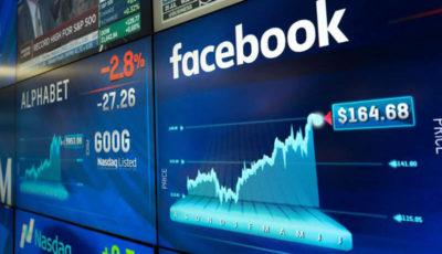 سهام فیسبوک ۱۲ درصد جهش کرد
